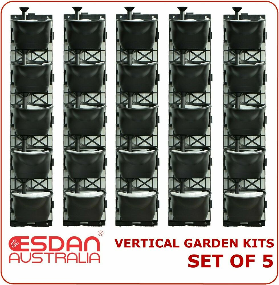 Vertical Garden Kit Wall Hanging Flowers Gardening Plants