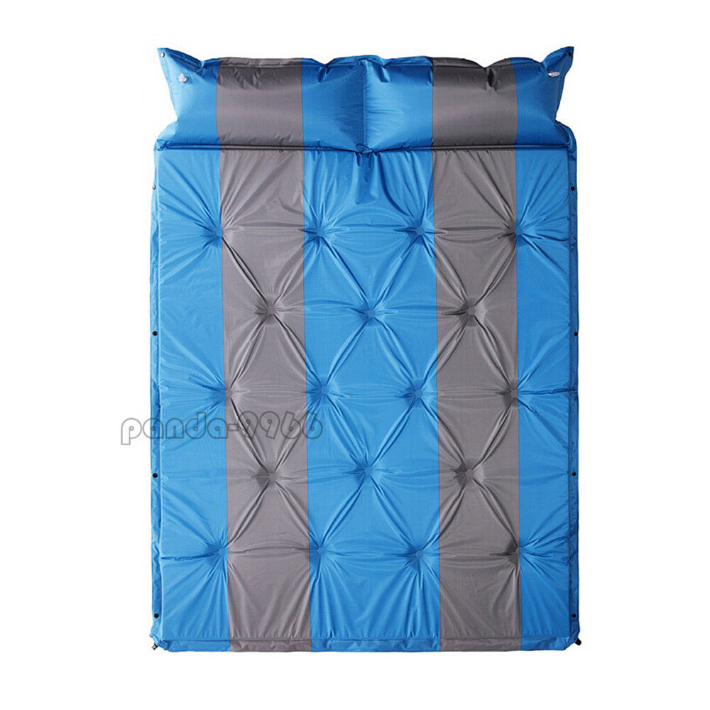 Double 2 Person Self Inflating Air Mattress Sleeping Pad