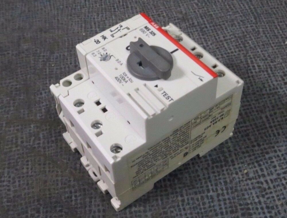 Abb Ms325 Ms 325 Manual Motor Starter 6 3 9 Amp With Hk 20