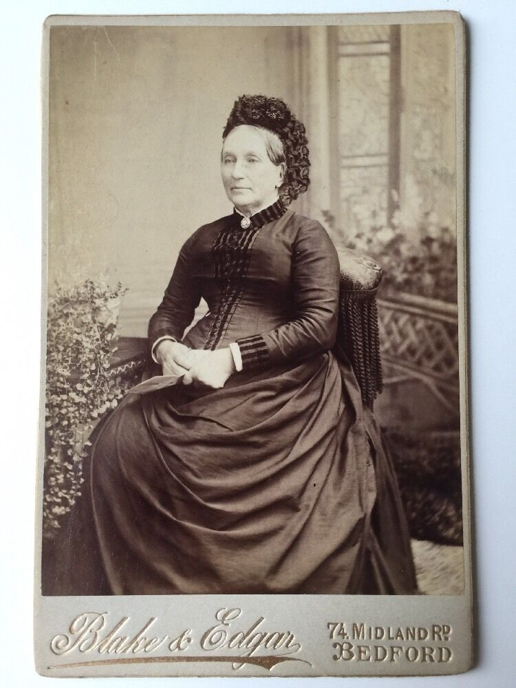 Large Victorian Cabinet Card Carte De Visite CDV Photo
