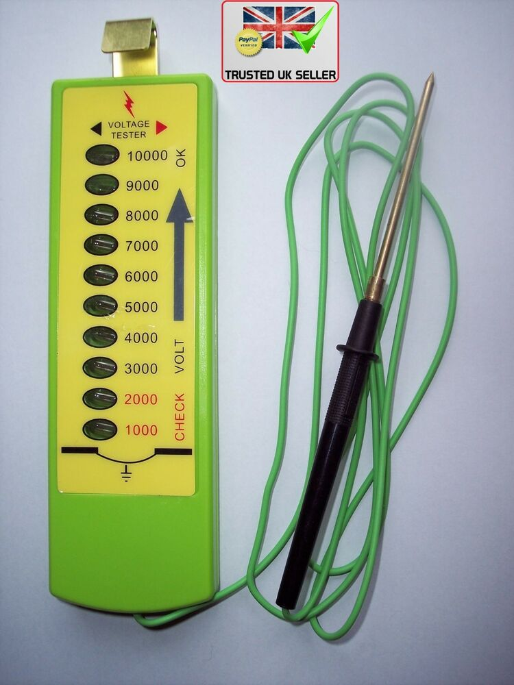 Electric Fence Tester : Top seller electric fence tester levels fencing power