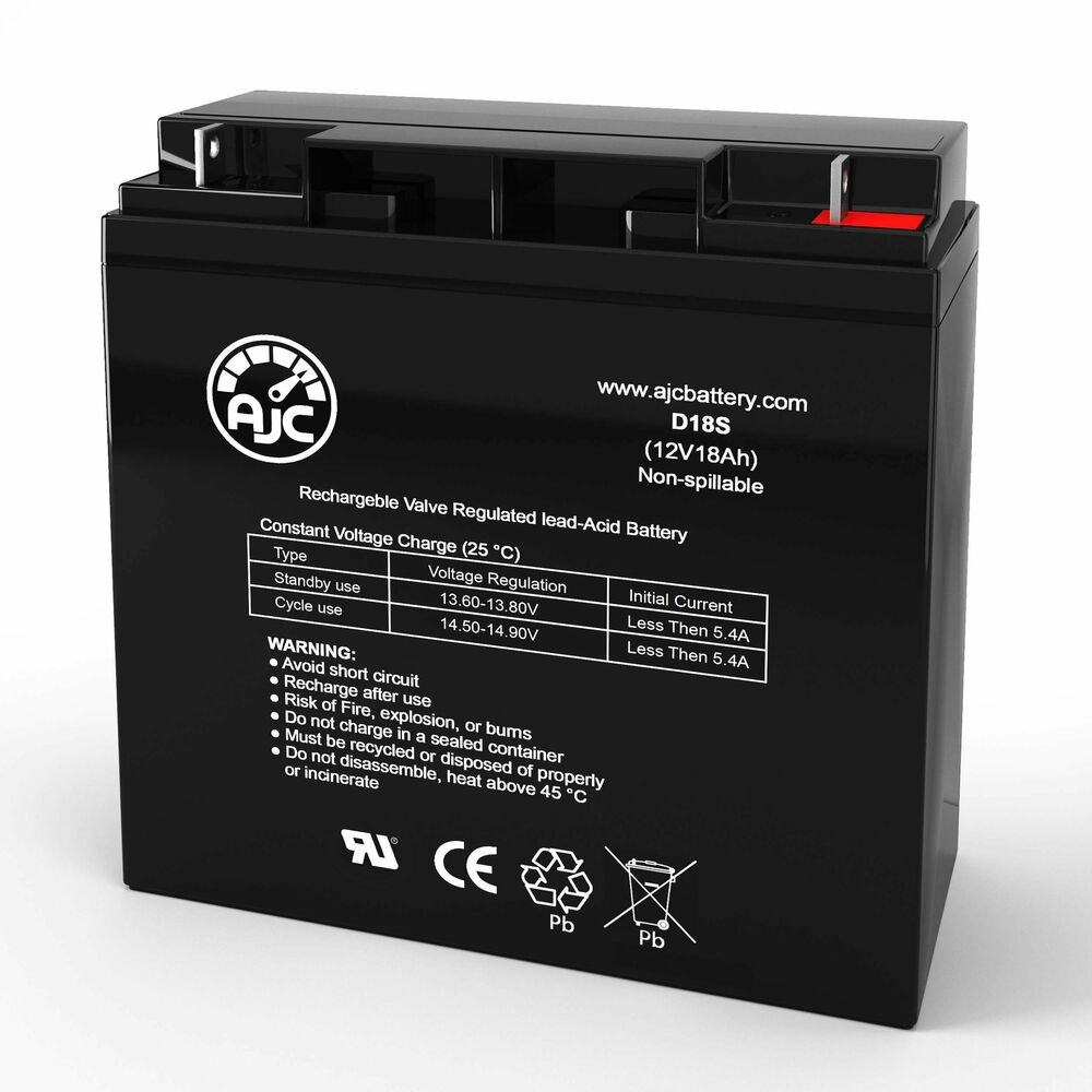 Jazzy 1170 XL Plus 12V 75Ah Scooter Battery - This is an ...