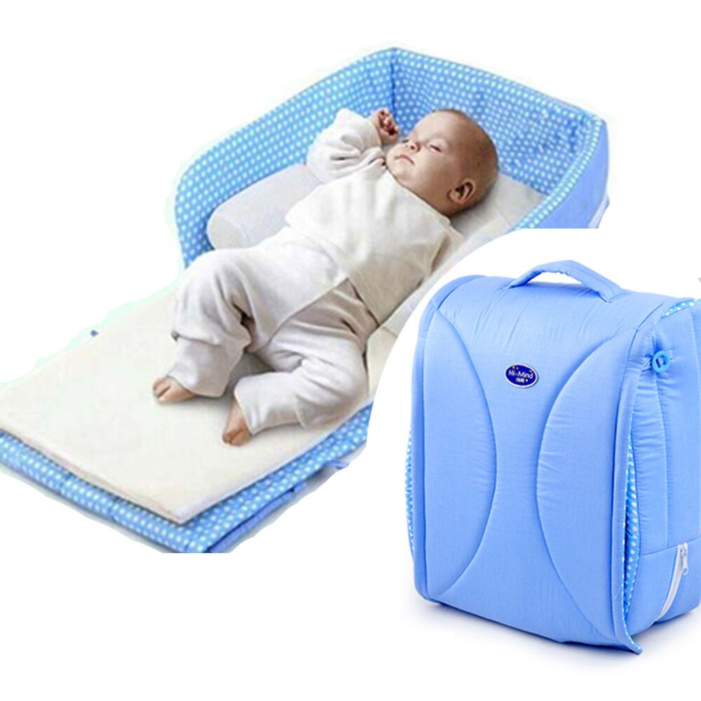 Safe sleeping with your baby next to your bed The Arm's Reach® Co-Sleeper® brand Bassinet is the only patented cosleeping product on the market that offers exclusive method for attaching the babies sleep space securely to the side of the parent's bed.
