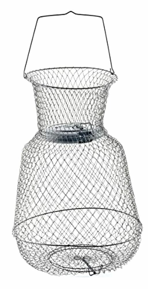 New floating wire long lasting fish basket container catch for Fish wire basket