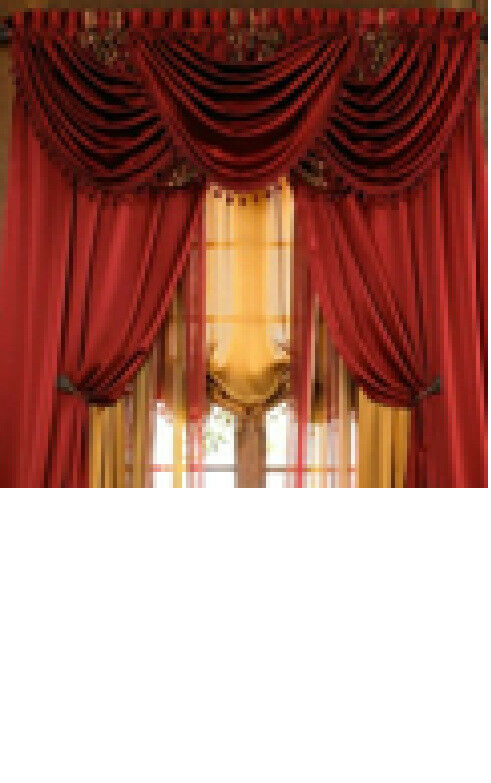 Luxury Hyatt Window Treatment Window Curtain Panel Or