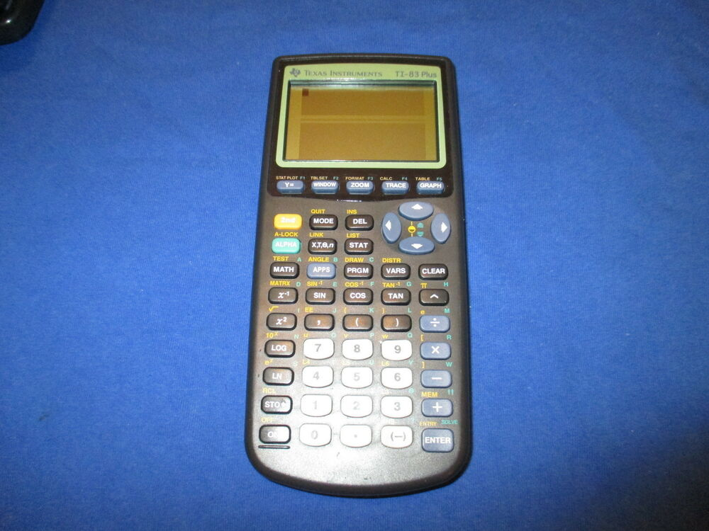 how to draw on a ti 83 calculator