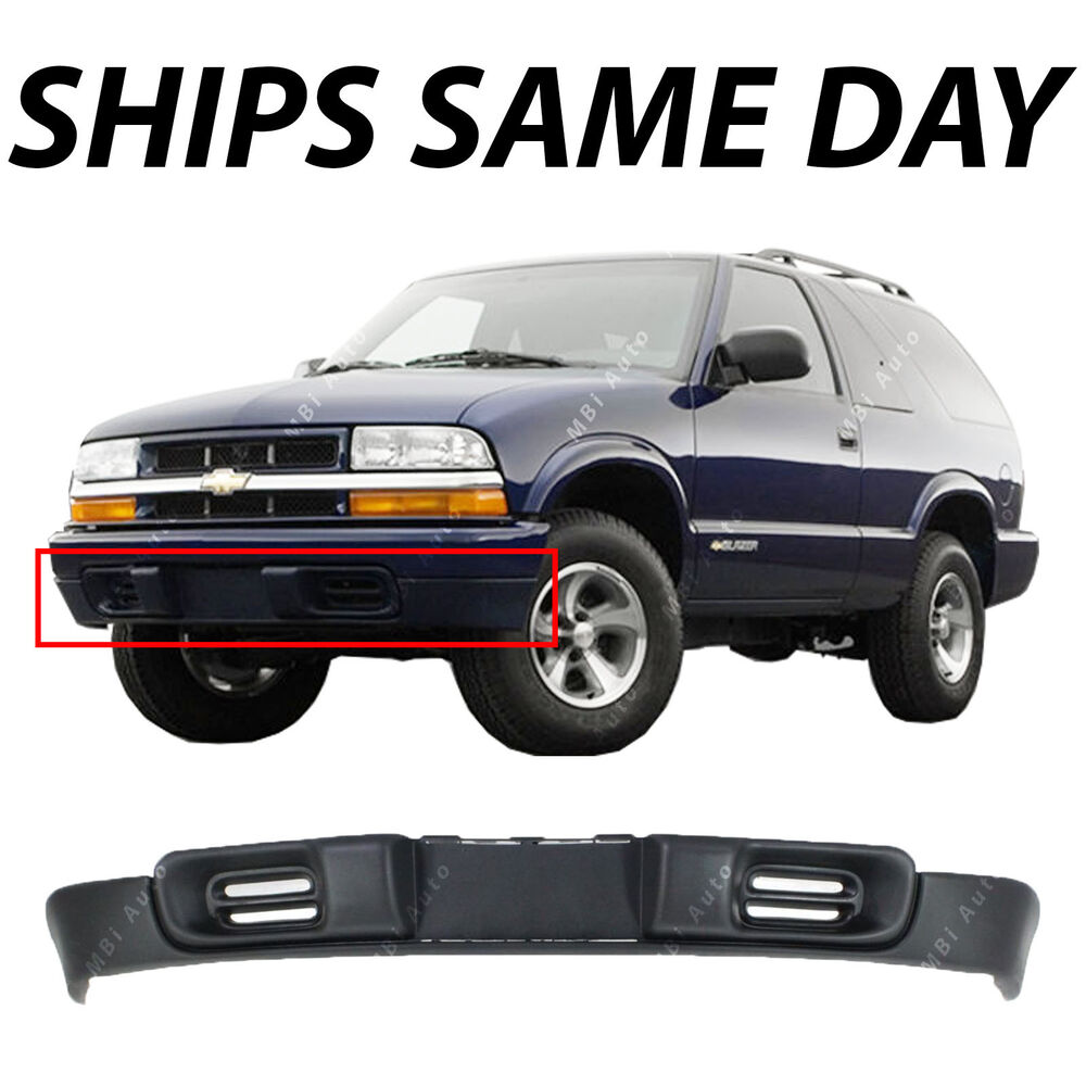 Blazers Gm: NEW Textured Front Bumper Deflector Lower Valance For 1998
