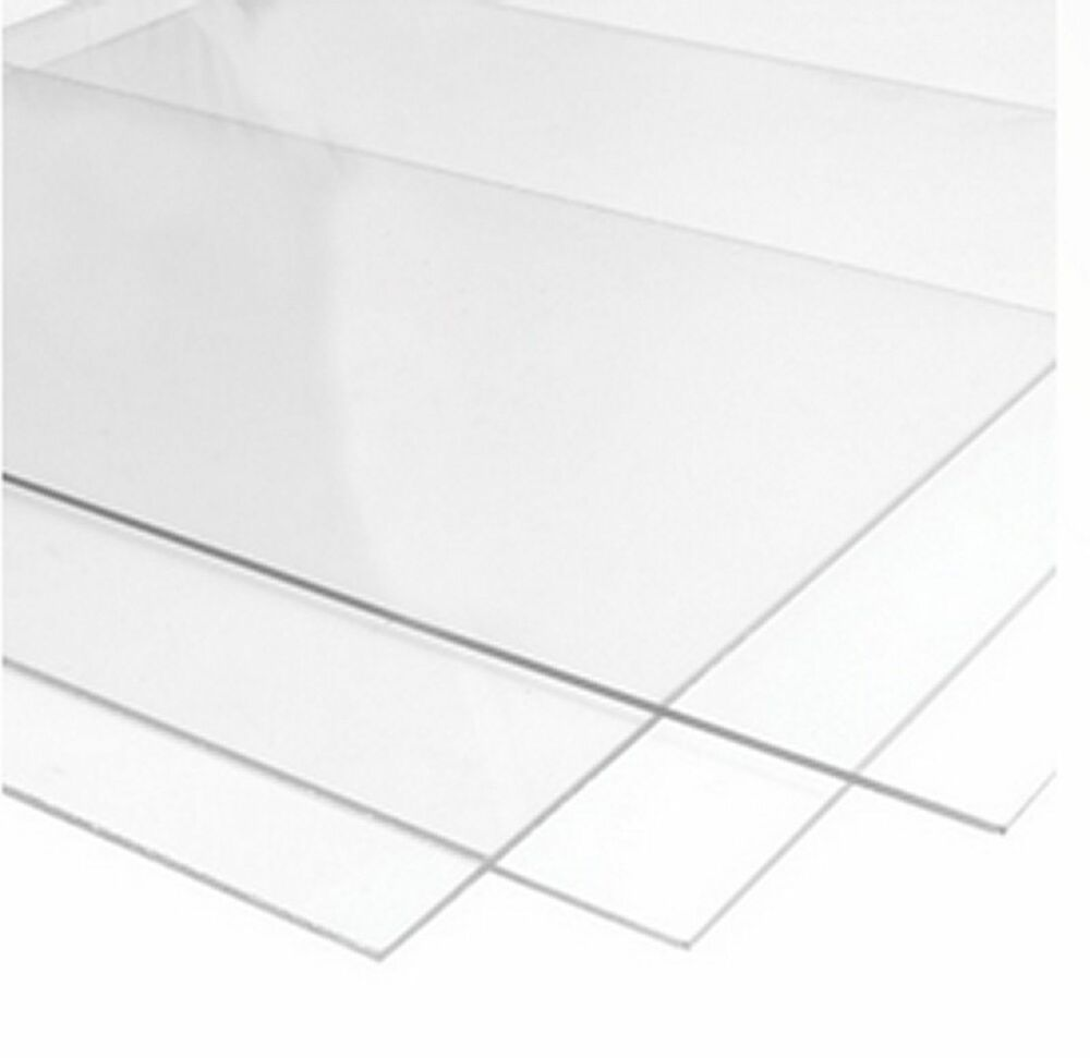 Perspex Glass Styrene And M D F For Picture Frames 1 2mm
