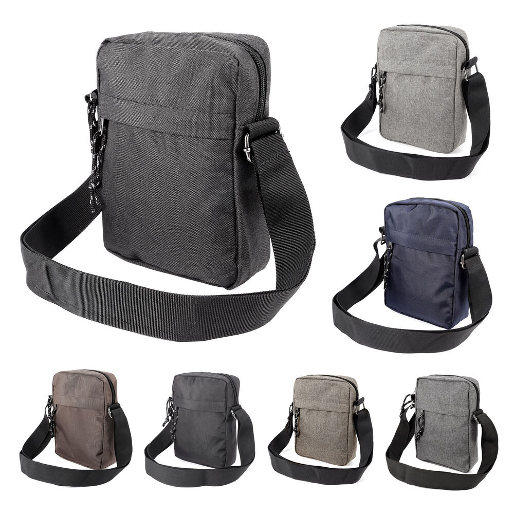 About Men's Messenger Bags Men's messenger bags are a stylish alternative to an overly formal briefcase or an exceedingly casual backpack. Like all messenger bags, these men's bags are typically worn over one shoulder or across the body resting on the hip and consist of a top flap closure that helps secure and protect the bag's contents.