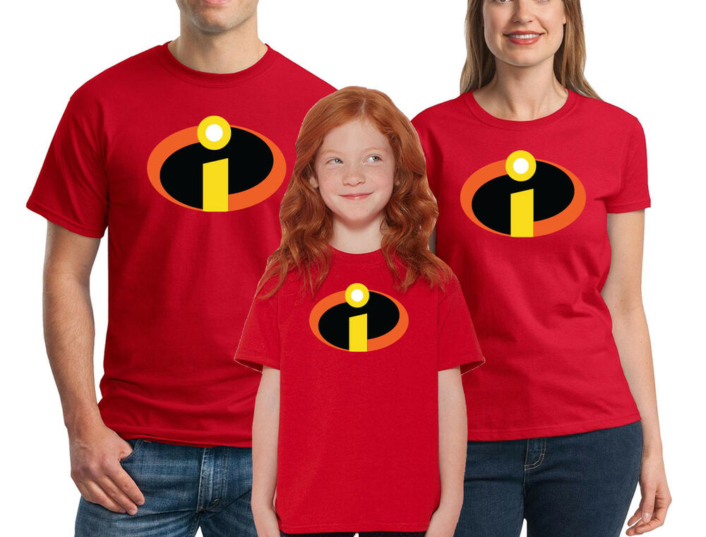 The incredibles t shirt disney family halloween costume for Costume t shirts online