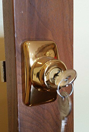 Storm Door Keyed Deadbolt Ir Db 02 Bb 1 1 4 Inch Thick