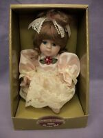 Collectible Memories Hand Crafted & Jointed Fine Bisque Porcelain Doll 6""