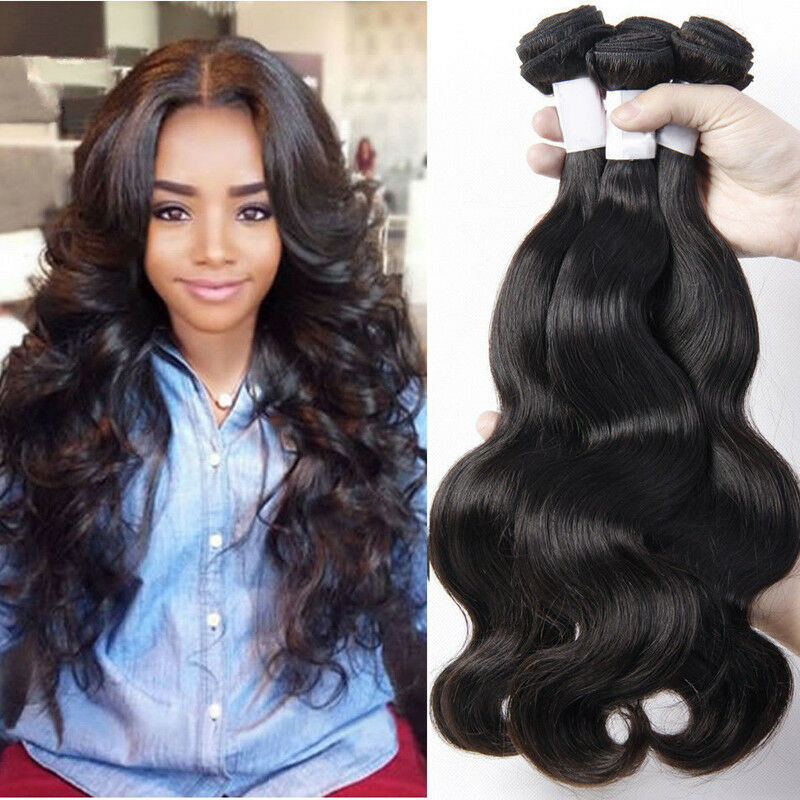 Brazilian Virgin Hair Body Wave 4 Bundles 200g Brazillian