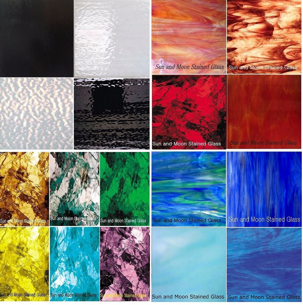 Spectrum Amp Wissmach Stained Glass Sheets Variety Packs