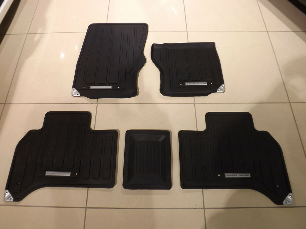 Genuine All New Range Rover Rubber Footwell Mats