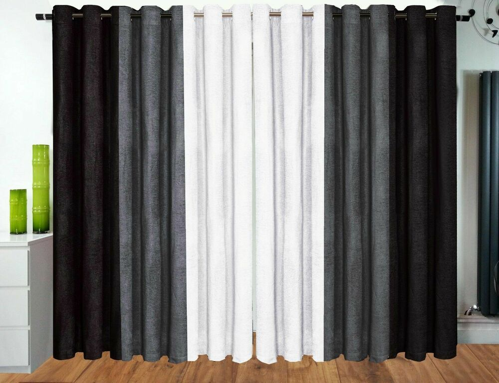 Half Price Eyelet Curtains Ring Top Curtains Fully