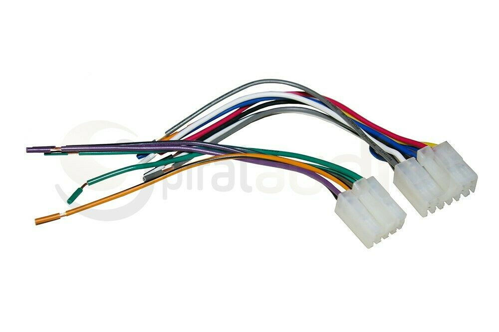 reverse radio wiring wire harness oem factory stereo