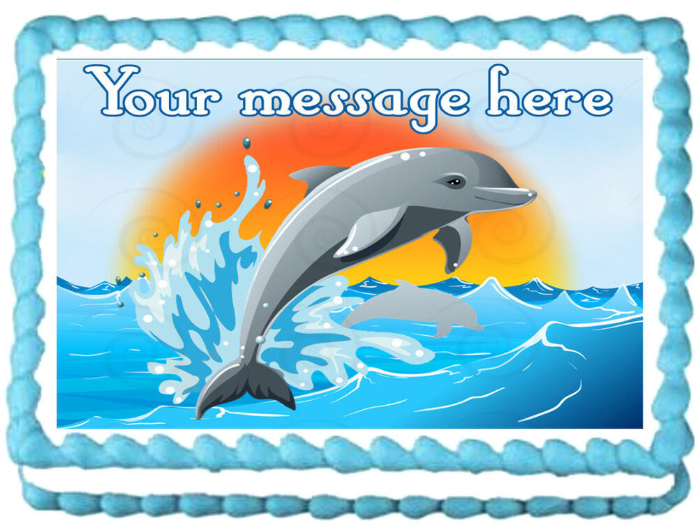 Dolphin Cake Toppers Wedding Cakes