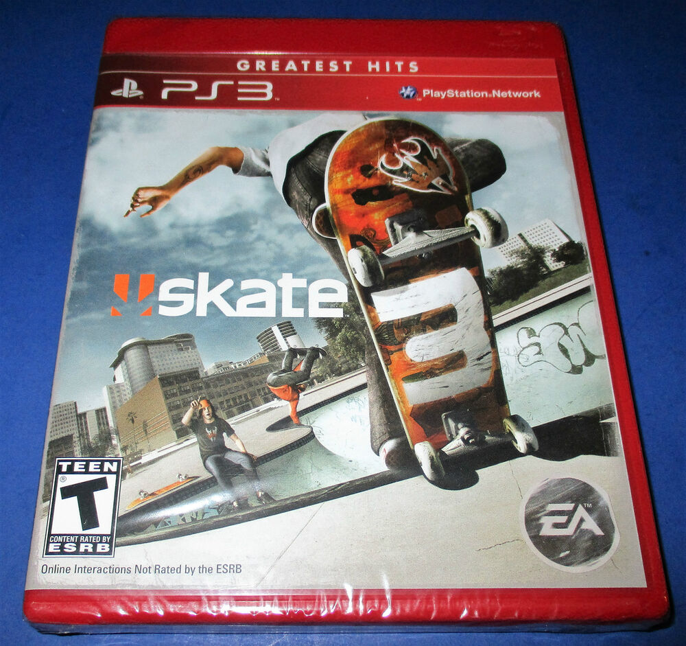Playstation 3 Skate 3 Covers Related Keywords & Suggestions