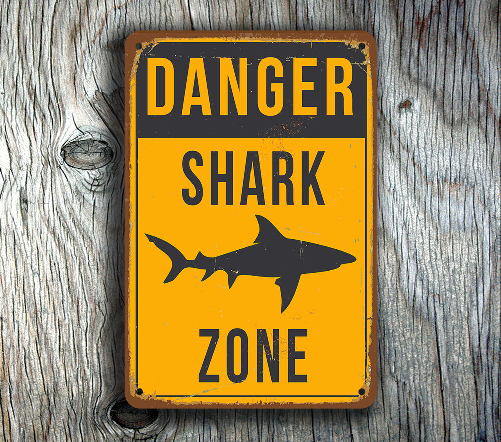 Shark Danger Zone Aluminum Warning Sign0 results. You may also like