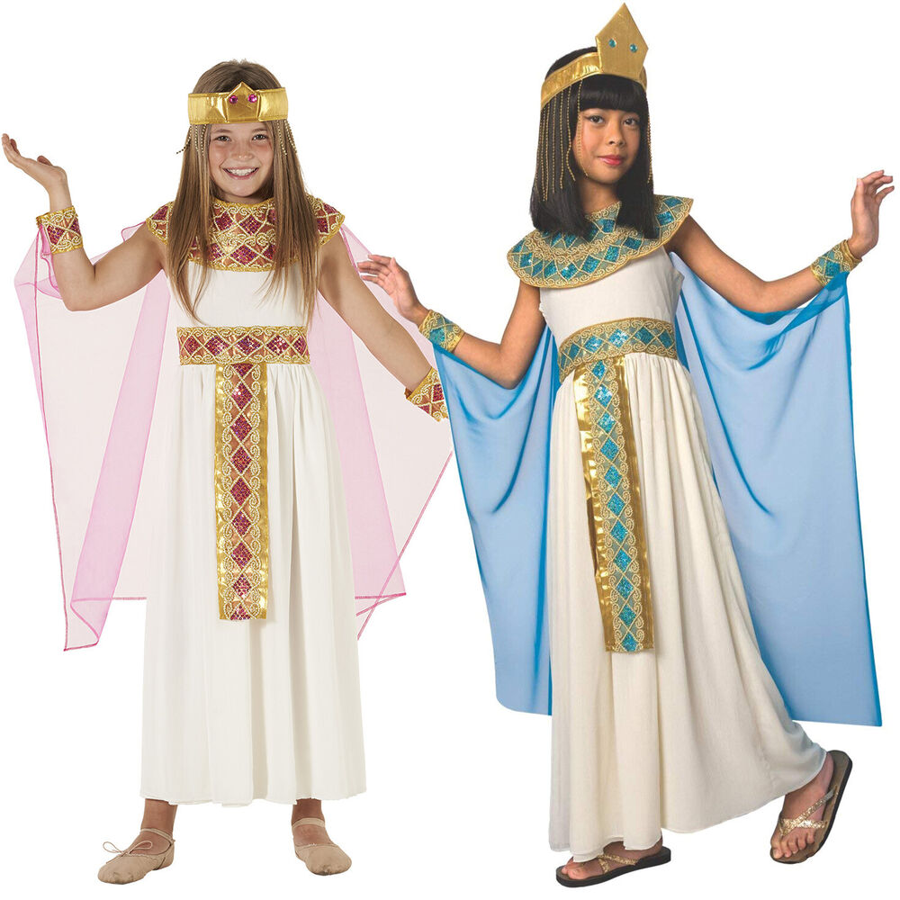 Girls Cleopatra Costum...