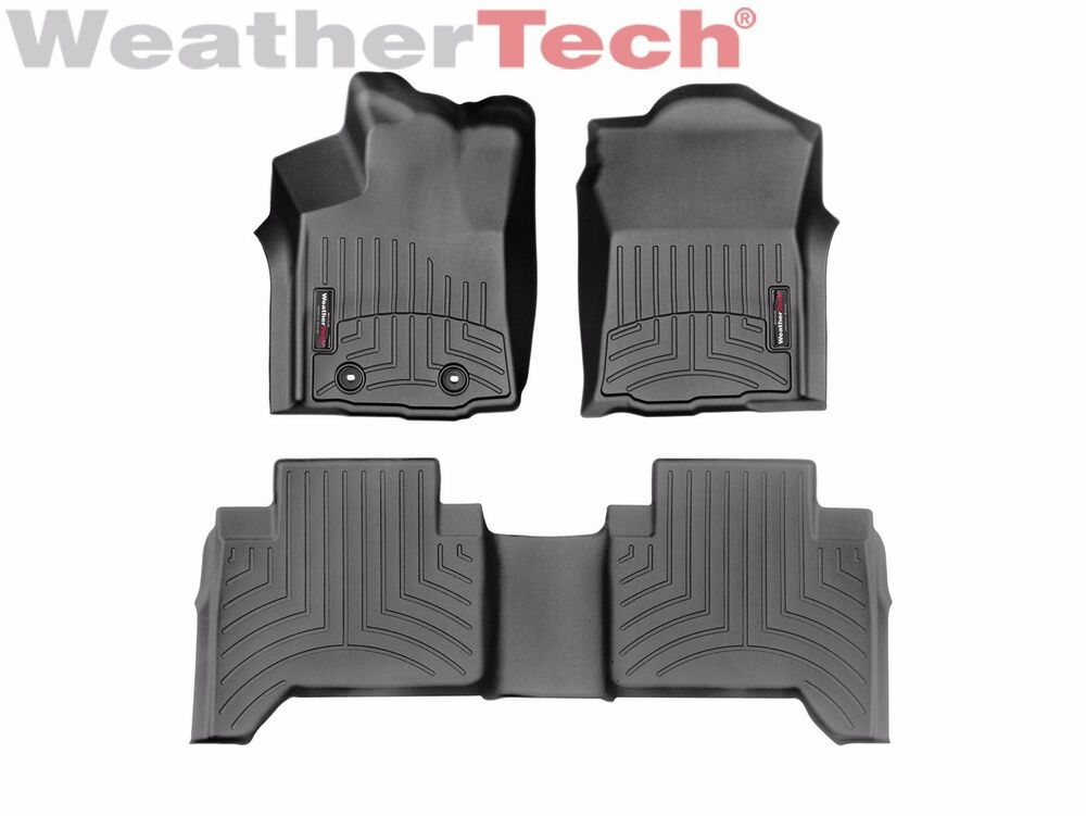 Weathertech Floorliner For Toyota Tacoma Double Cab 2016