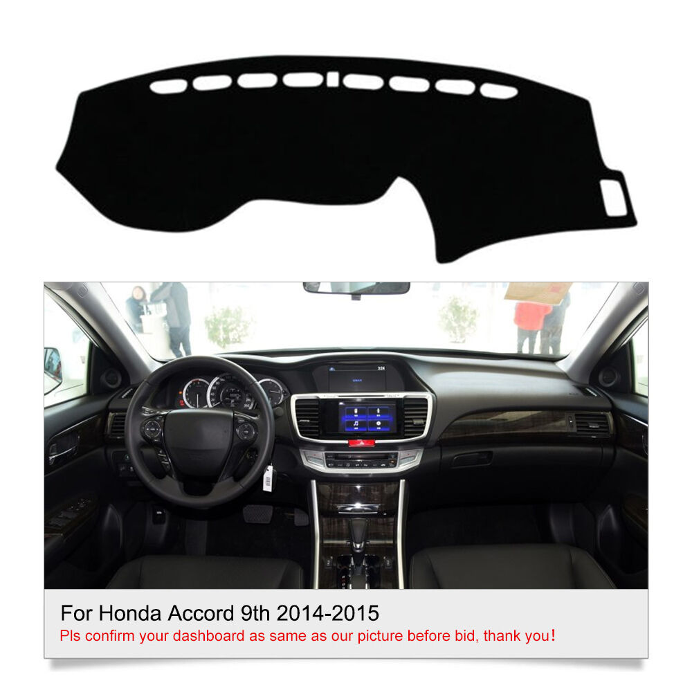 dashmat dashboard cover for honda accord 2014 2015 interior dash cover mat fly5d ebay
