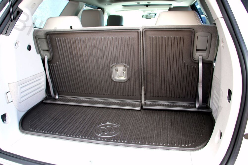 84004127 2015 2017 Buick Enclave Oem Rear Black Cargo Area