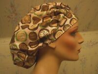 CANDY BOUFFANT / BOUFFANT-- SCRUB HAT / MEDICAL/ SURGICAL