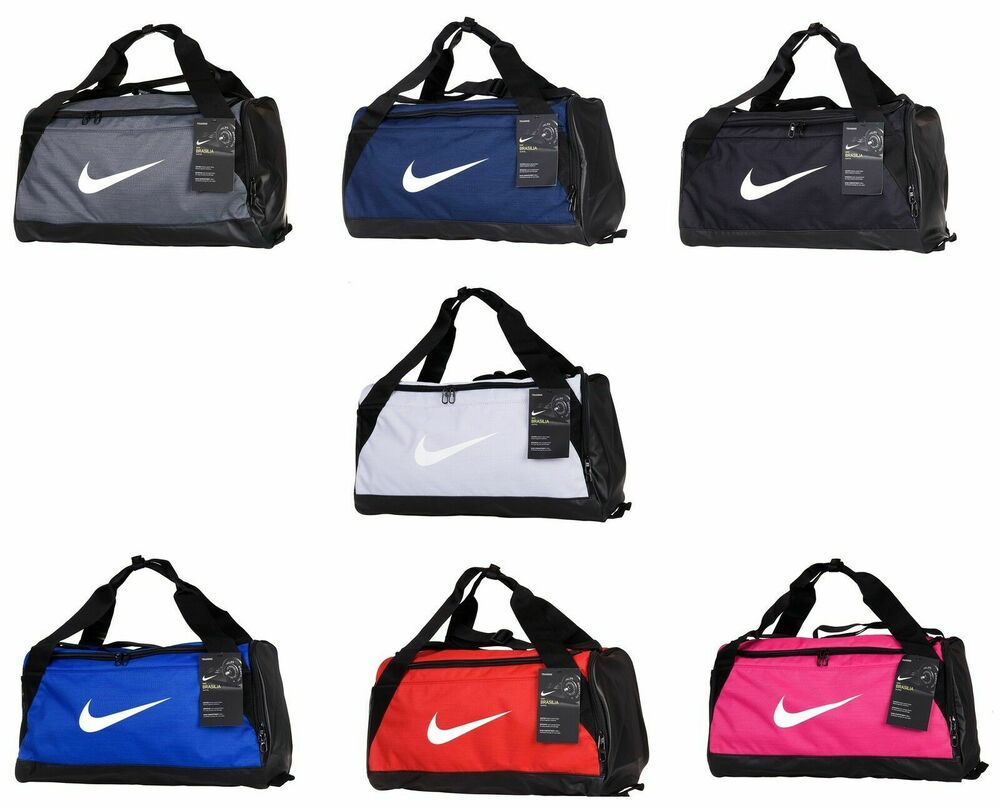 f99c7d8cf8 Details about Nike Duffle Sports Team Gym Bag Holdall Travel Kit Bags Small  Medium Official