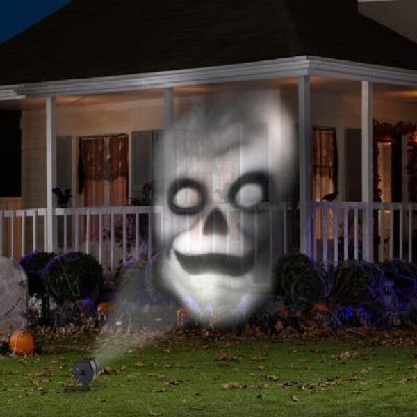 Halloween Animated Outdoor Projection Fade Steady