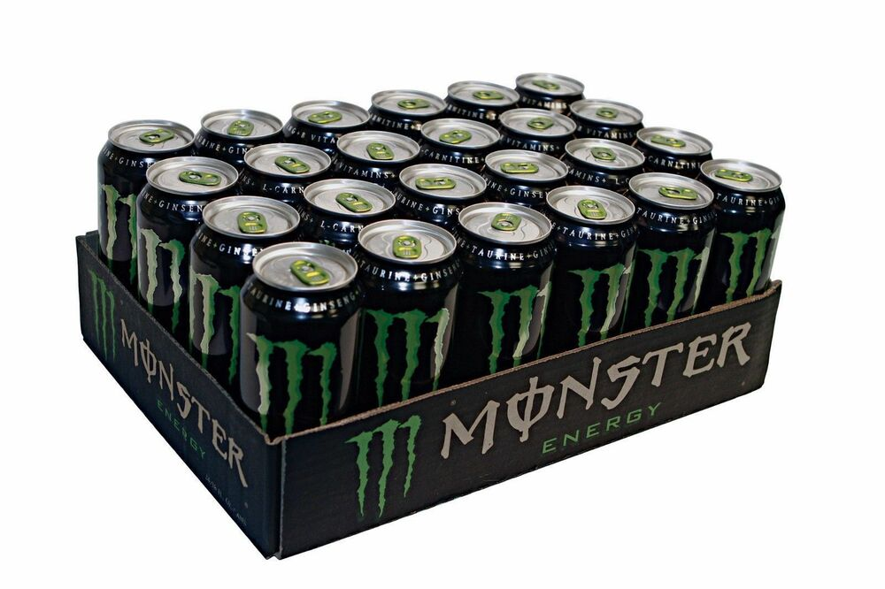 Monster Energy Drink 16 Ounce Cans Pack Of 24 No