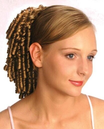 11 Quot Small Spiral Curls Curly Hair Ponytail Hairpiece