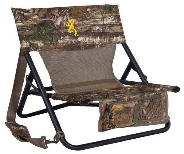 Hunting Chair Ground Blind Seat Portable Folding Compact