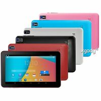 "9""Inch Android Tablet PC 8GB Quad Core Android 4.4 KitKat Dual Camera WIFI Game"