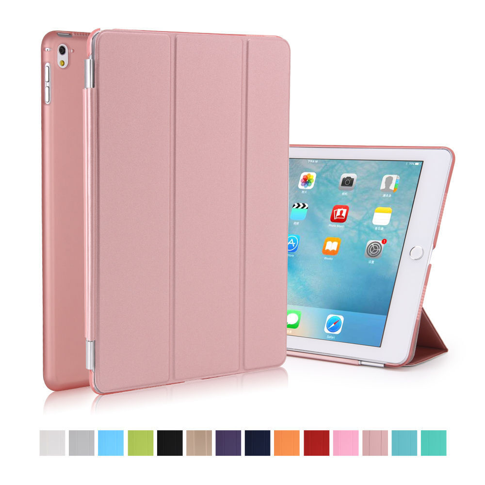 rose gold magnetic smart cover stand case for ipad pro 9 7 ipad 3 4 mini air 2 ebay. Black Bedroom Furniture Sets. Home Design Ideas