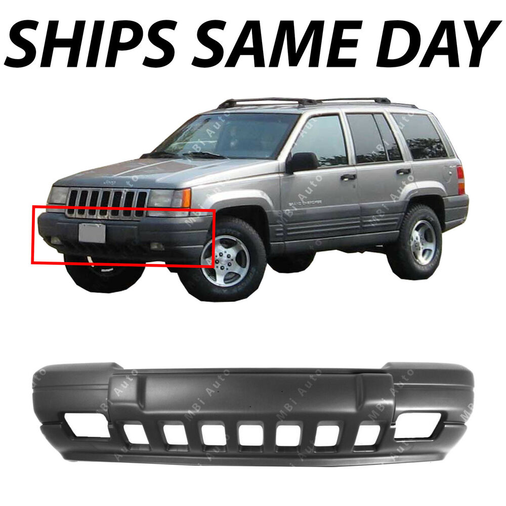 Front Bumper Cover For 1996-1998 Jeep Grand