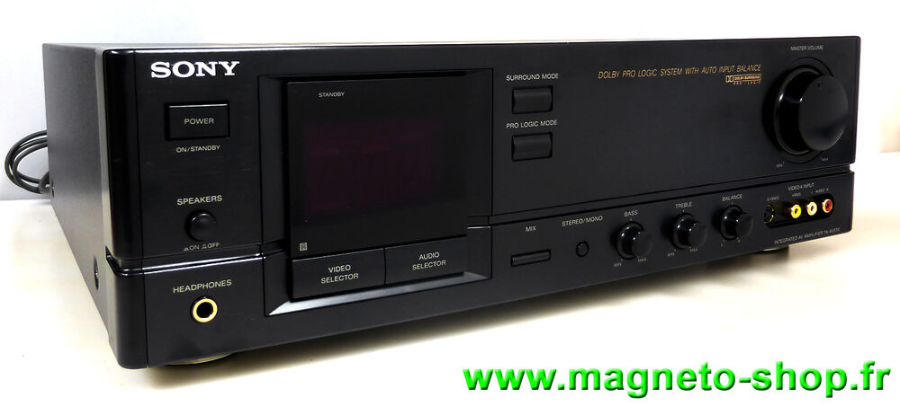 ampli pr ampli audio video sony ta av570 phono r vis. Black Bedroom Furniture Sets. Home Design Ideas