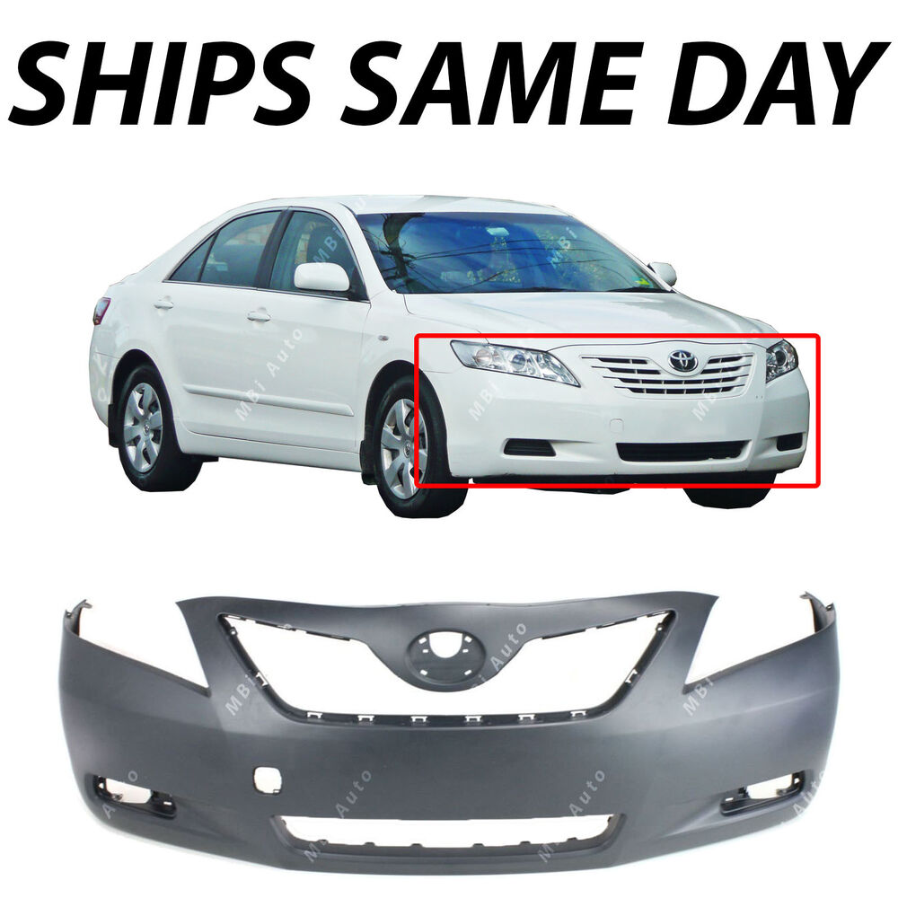 new primered front bumper cover fascia for 2007 2008
