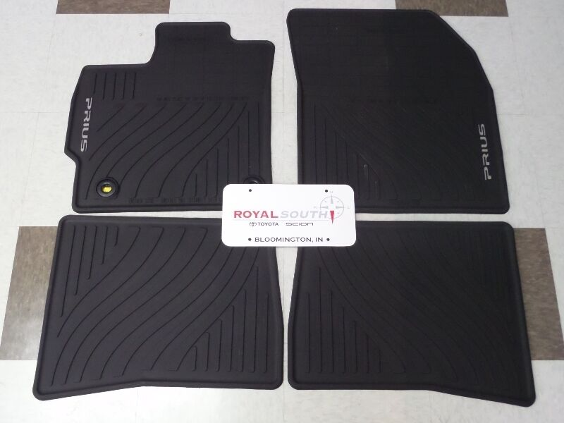 toyota prius 2010 floor mats husky liners weatherbeater. Black Bedroom Furniture Sets. Home Design Ideas