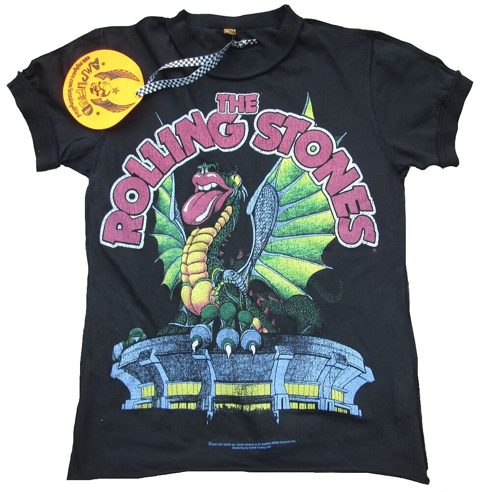 rock vintage tee shirts size small