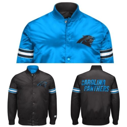 authentic-carolina-panthers-reversible-starter-nfl-satin-jacket-teal-to-black