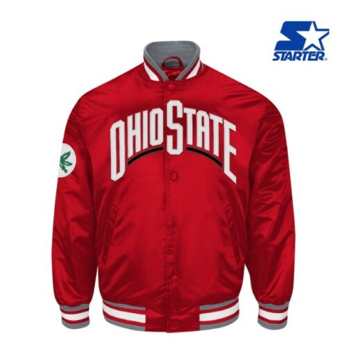 authentic-ohio-state-buckeyes-starter-ncaa-satin-jacket-red