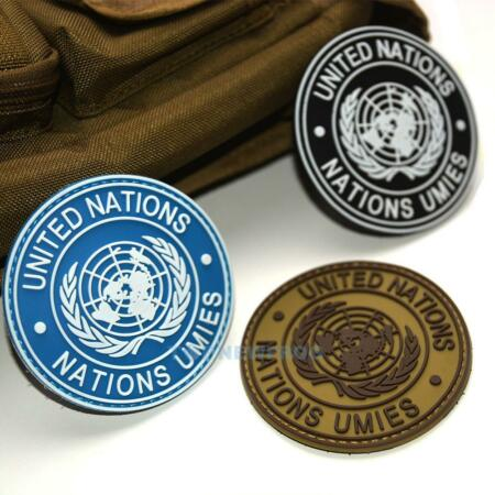 img-UN United Nations U.N. Shoulder Patch Tactical Army Military Badge Circle