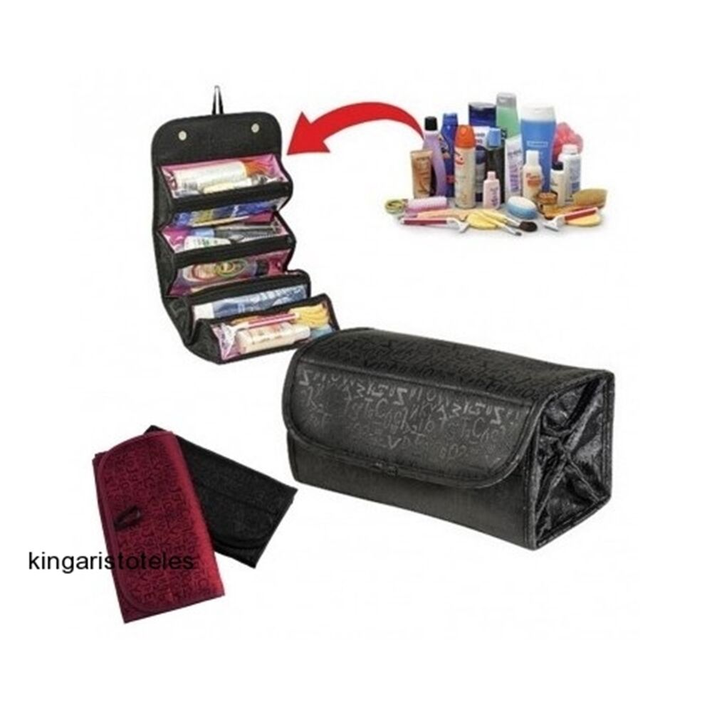 Travel Hanging Bag Makeup Cosmetic Toiletry Case Organizer