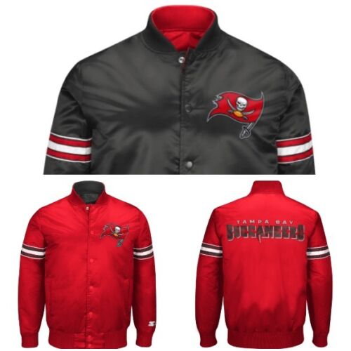 authentic-tampa-bay-buccaneers-reversible-starter-nfl-satin-jacket-gray