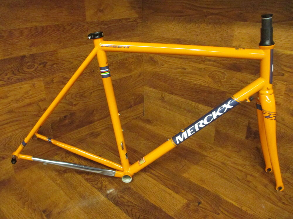 Rare New Eddy Merckx Liege 75 Columbus Steel Frame Set