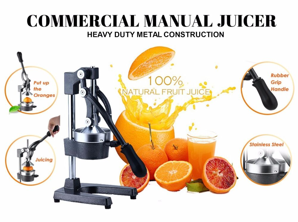 Commercial Grapefruit Juicer ~ Commercial manual juicer juice extractor hand press