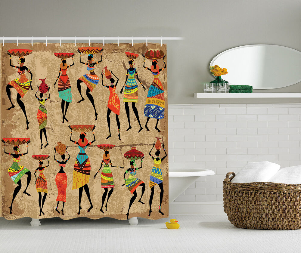 African American Art Decor Afrocentric Women In Tribal
