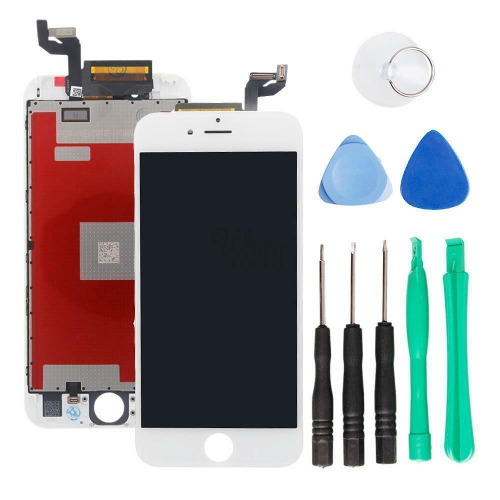 White LCD Replacement Screen + 3D Touch Digitizer Assembly ...